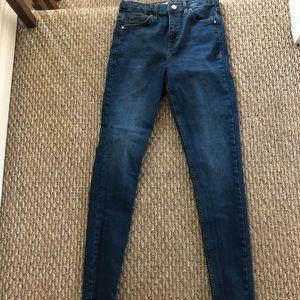 Top shop Moto Jamie high waisted jeans